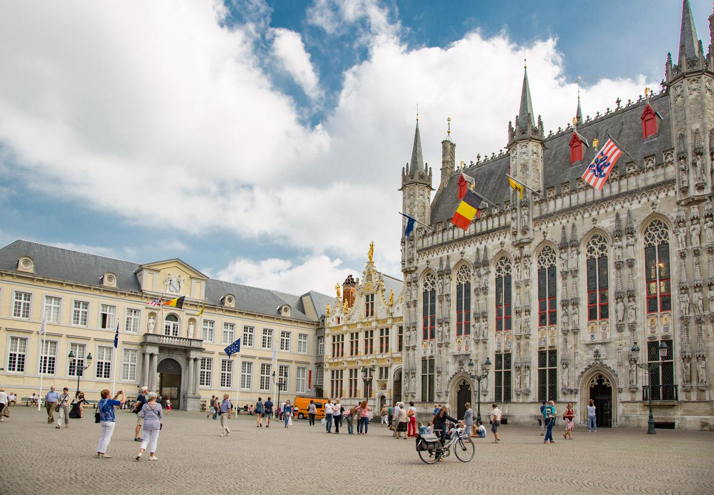 De historische binnenstad van Brugge