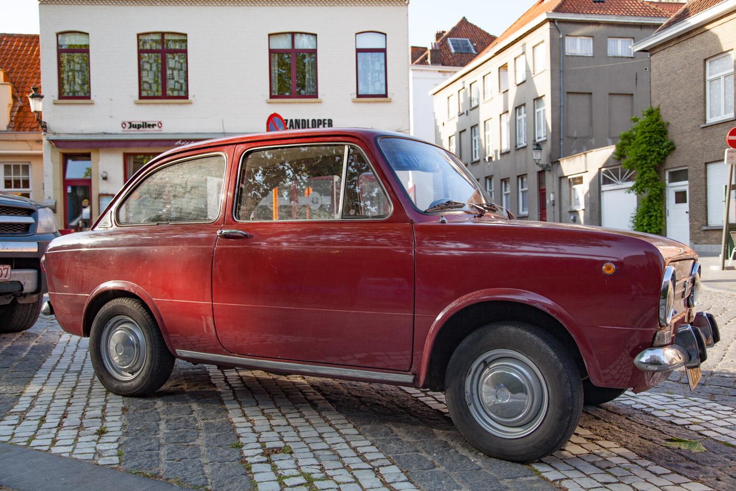 parkeren op straat in Brugge