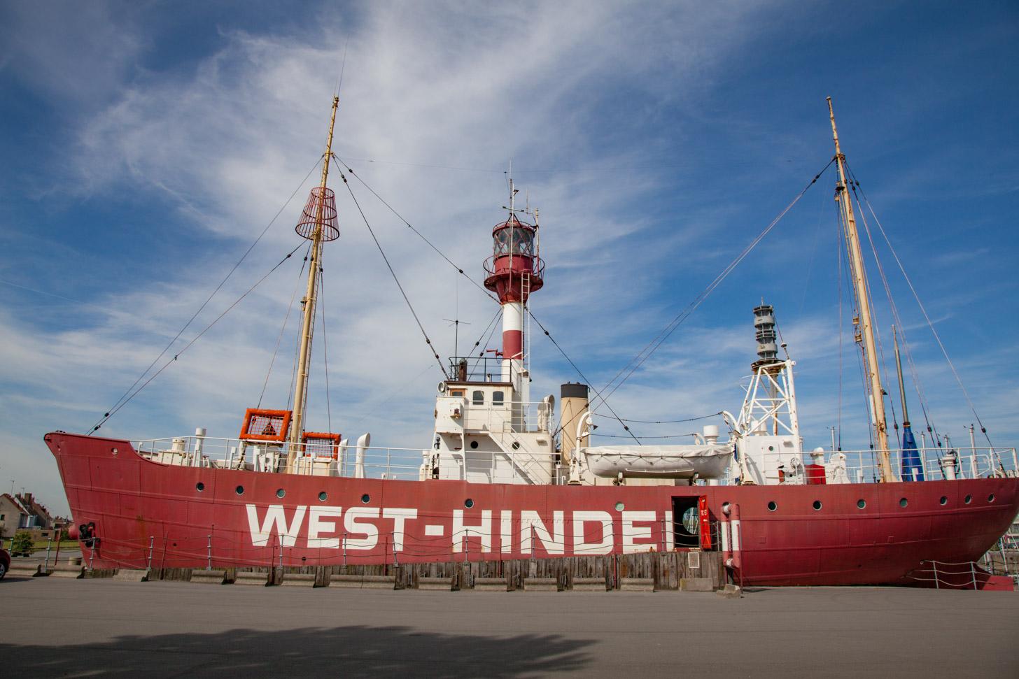 de Westhinder in Zeebrugge